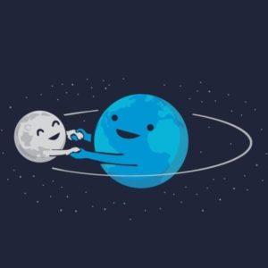 Чем будет Земля через десяток космических лет? Луной!