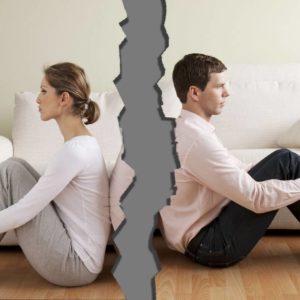 Причины развала браков